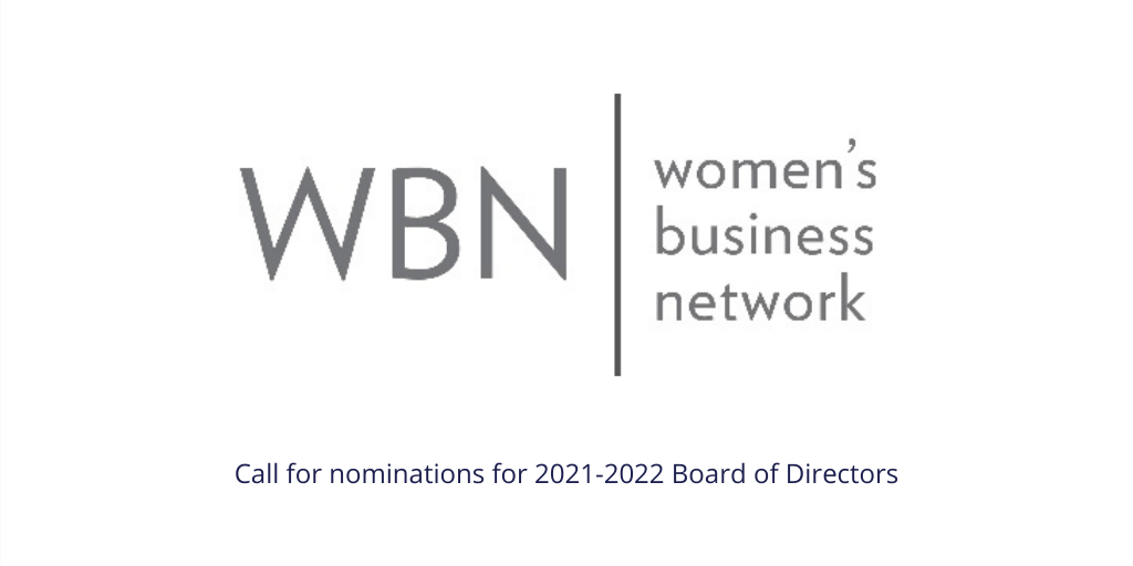 Call for nominations for 2021-2022 Board of Directors