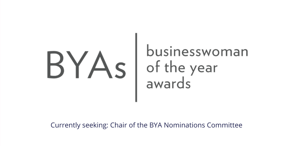 Get involved in running this year's Businesswoman of the Year awards!