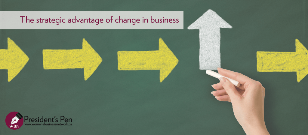 The strategic advantage of change in business