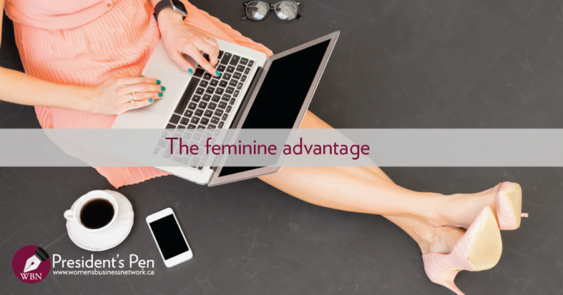 The feminine advantage