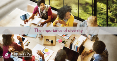 The importance of diversity