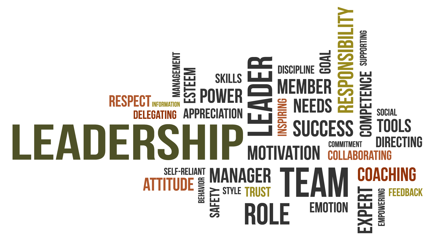 Leadership Traits (word cloud)
