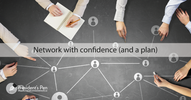 Network with confidence (and a plan)