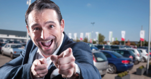 We don't want to be a used car salesman. We want to sell value.